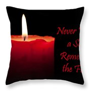 Never Forget A Soul Remember The Fallen Throw Pillow
