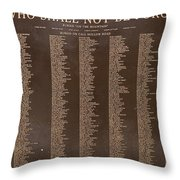 Never Forgotten Throw Pillow
