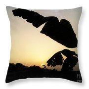 Never Let You Go Sun Throw Pillow