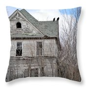 Never More Throw Pillow