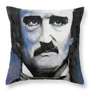 Never More - Poe Throw Pillow