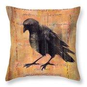 Nevermore II Throw Pillow