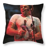 Neville Brothers Throw Pillow