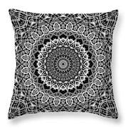 New Abstract Plaid Kaleidoscope Throw Pillow