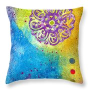 New Age #7 Throw Pillow