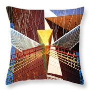 New Age Performing Arts Center Throw Pillow