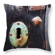 New And Old Locks Throw Pillow