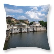 New Athens In Philadelphia Throw Pillow