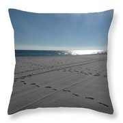 New Beach Throw Pillow