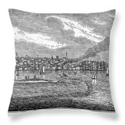 New Bedford, 1839 Throw Pillow