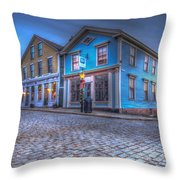 New Bedford - Historic District Throw Pillow