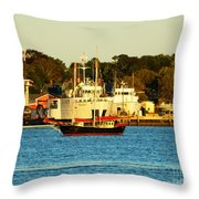 New Bedford Massachusetts 2 Throw Pillow