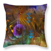 New Beginning - Square Version Throw Pillow