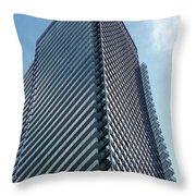 New Condo Building Throw Pillow