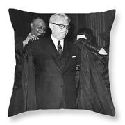 New Court Justice Goldberg Throw Pillow