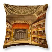 New Covent Garden Theatre Throw Pillow