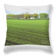 New Crop Throw Pillow