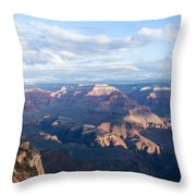 New Day At The Grand Canyon Throw Pillow