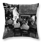 New Deal: C.c.c. Class Throw Pillow