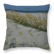 New Dunes On The Atlantic Throw Pillow