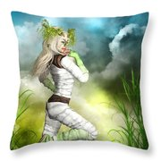 New Earth 3014 Throw Pillow