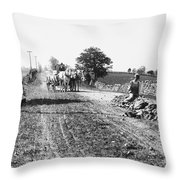 New England Road, C1910 Throw Pillow