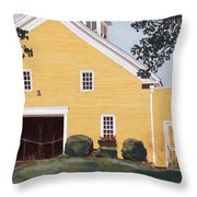 New England Roots Throw Pillow
