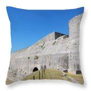 New Fort Corfu 1 Throw Pillow