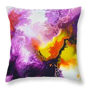 New Freedom Canvas Four Throw Pillow