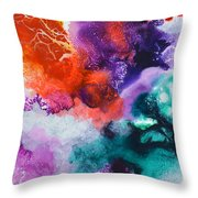 New Freedom Canvas One Throw Pillow