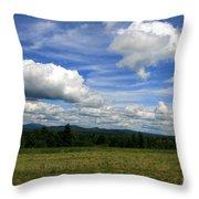 New Hampshire Blue Sky  Throw Pillow