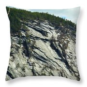 New Hampshire Ledge Throw Pillow