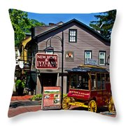 New Hope Crossing Throw Pillow