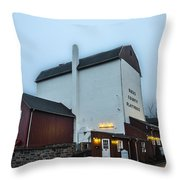 New Hope - The Bucks County Playhouse Throw Pillow