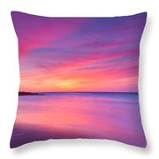 New Jersey Sunrise Throw Pillow