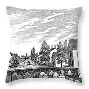 New Jersey Swedesboro Throw Pillow