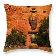 New Mexico Art Throw Pillow