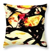 New Mexico Autumn Throw Pillow