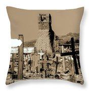 New Mexico Dusk Throw Pillow