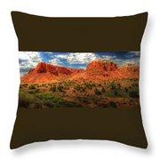 New Mexico Mountains 2 Throw Pillow