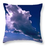New Mexico Sky Throw Pillow by Jerry McElroy
