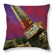 New Mission Theater San Francisco Throw Pillow