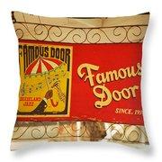 New Orleans - Bourbon Street 14 Throw Pillow