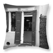 New Orleans - Bourbon Street 17 Throw Pillow