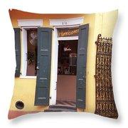 New Orleans - Bourbon Street 2 Throw Pillow