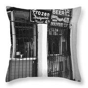 New Orleans - Bourbon Street 21 Throw Pillow