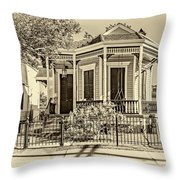 New Orleans Charm 2 Throw Pillow