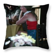 New Orleans: Couple Throw Pillow