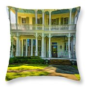 New Orleans Home - Paint Throw Pillow