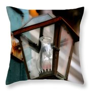 New Orleans Lamp Throw Pillow